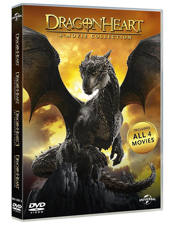COF.DRAGONHEART COLLECTION (4 DVD) (DVD)