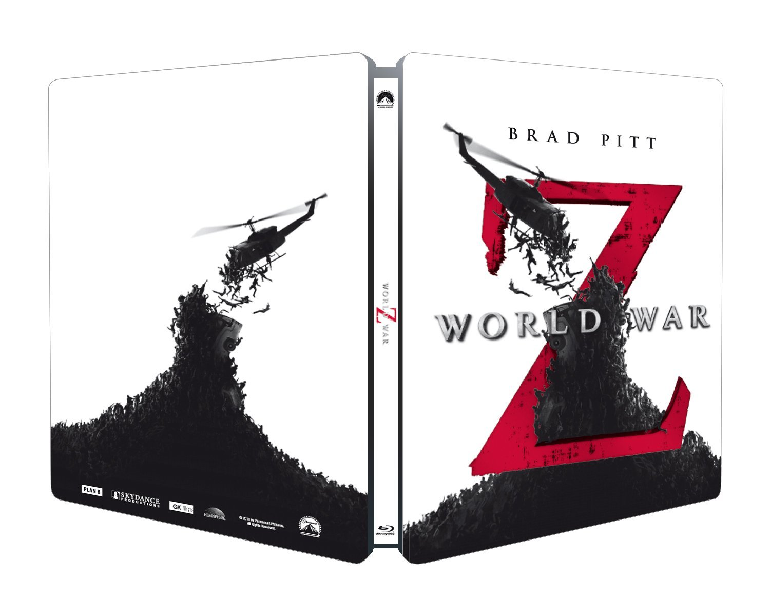 WORLD WAR Z (BLU-RAY - STEELBOOK)