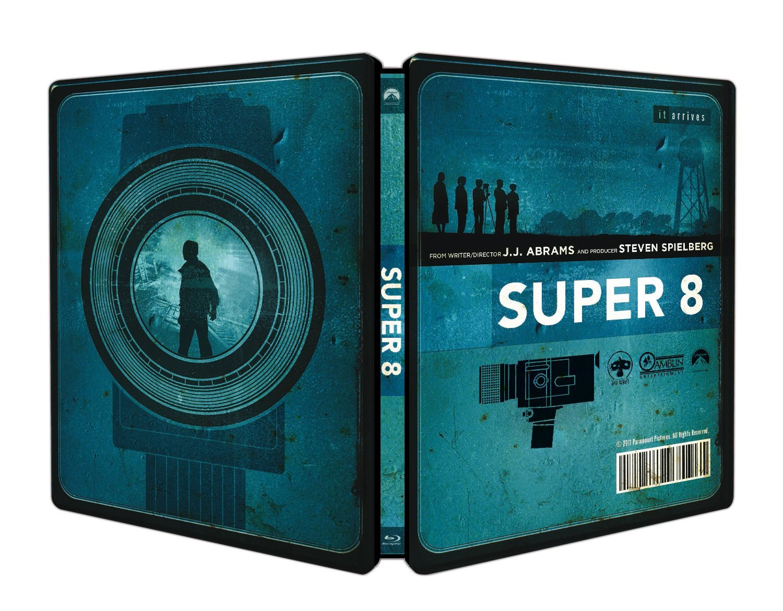 SUPER 8 (STEELBOOK) - BLU RAY