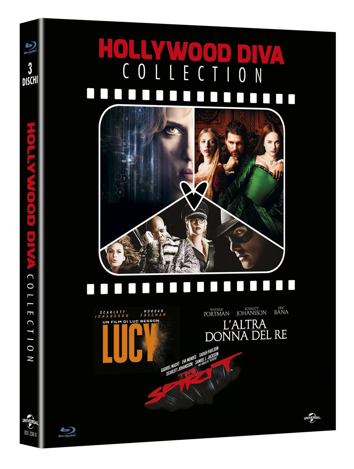 COF.HOLLYWOOD DIVA COLLECTION (3 BLU-RAY) LUCY-L'ALTRA DONNA DEL