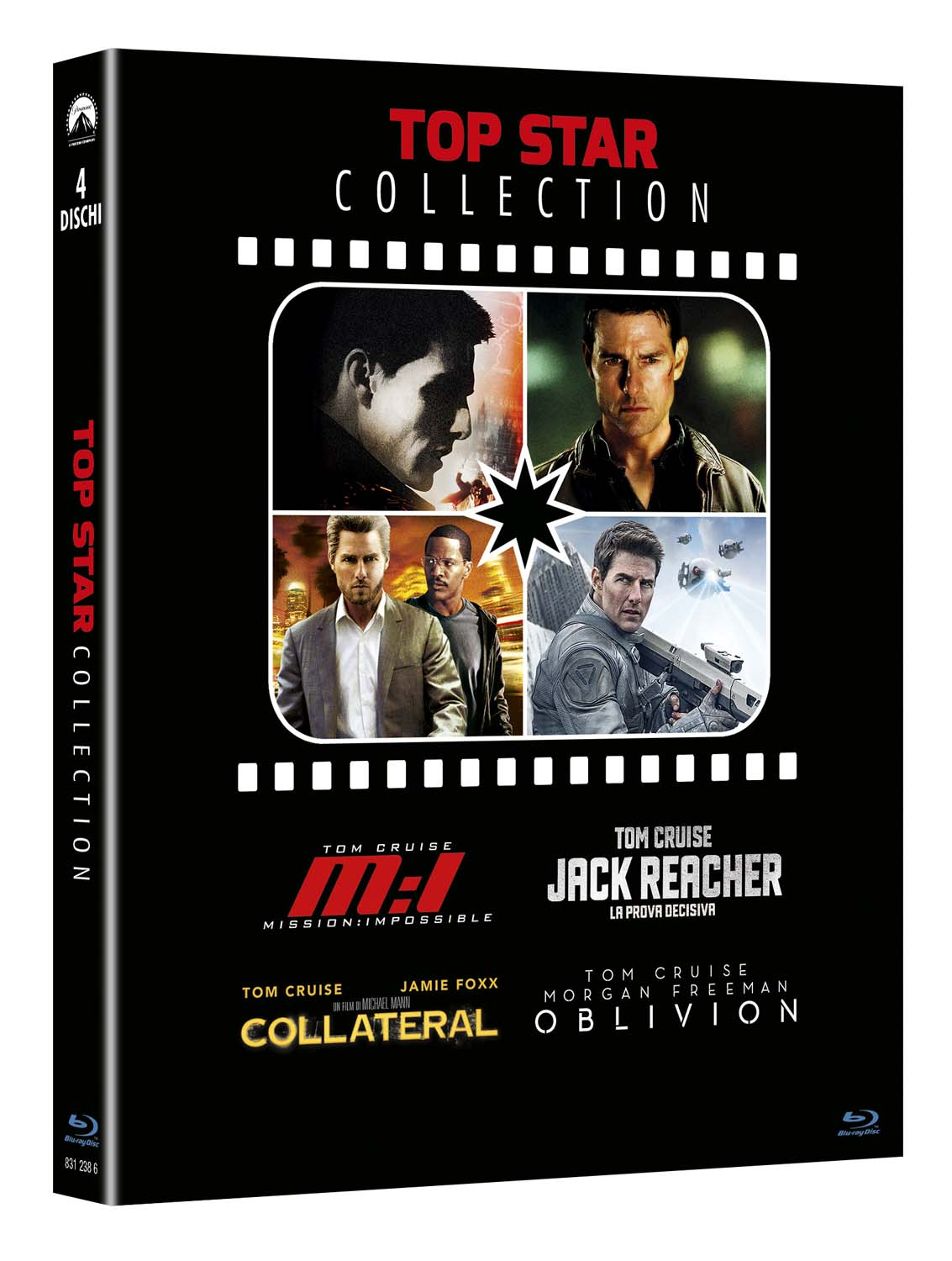 COF.TOM CRUISE COLLECTION (4 BLU-RAY) MISSION IMPOSSIBLE - JACK