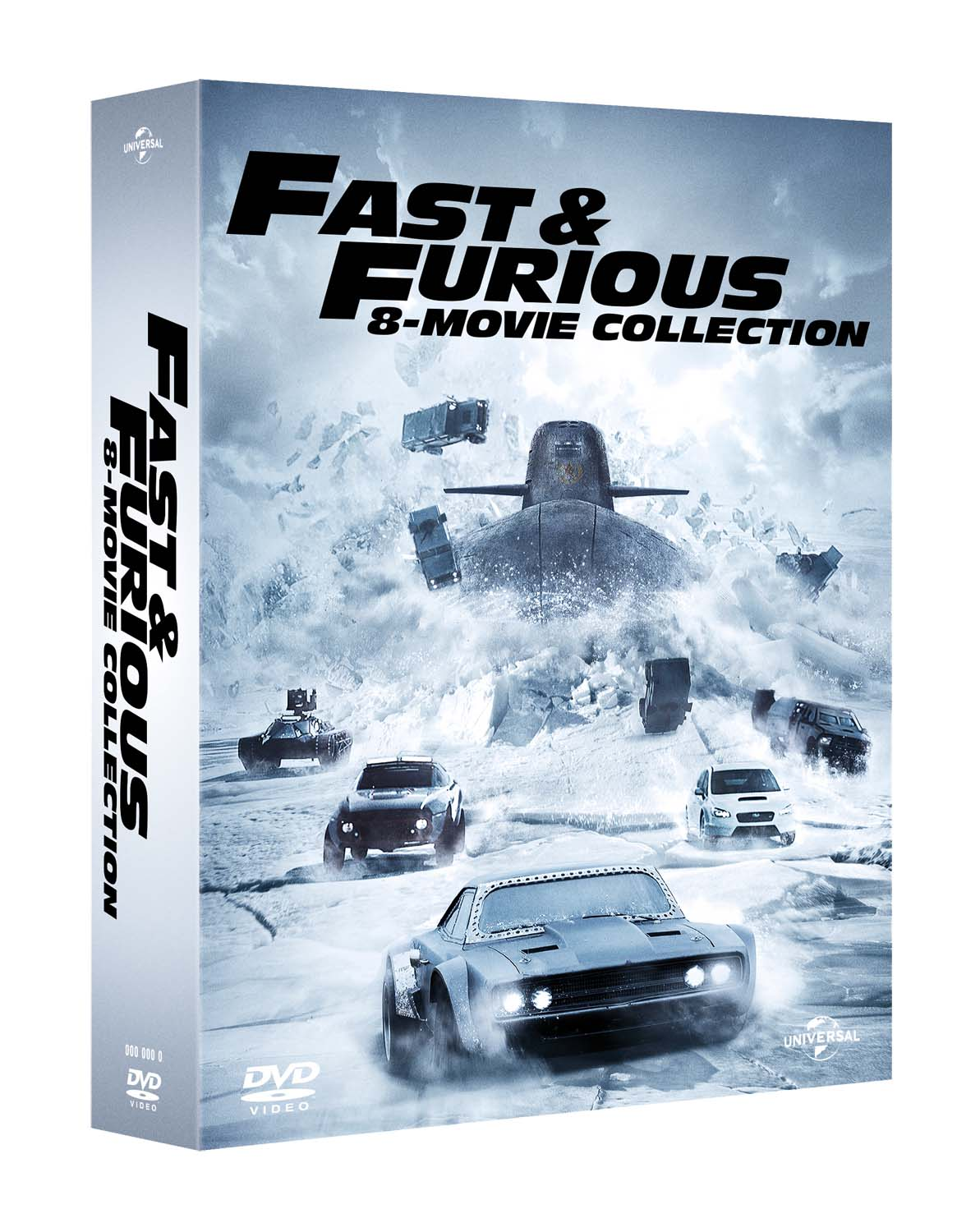 COF.FAST & FURIOUS - 8 MOVIE COLLECTION *(8 DVD) (DVD)