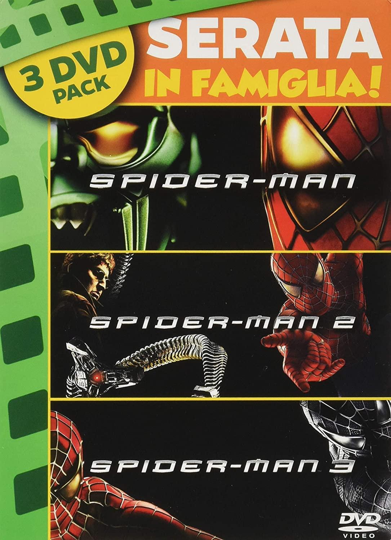 COF.SPIDERMAN 1-2-3 (DVD)