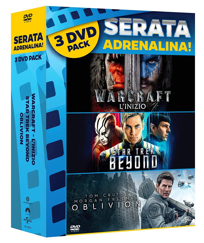 COF.OBLIVION/WARCRAFT/STAR TREK BEYOND (BOX SET) (3 DVD) (DVD)
