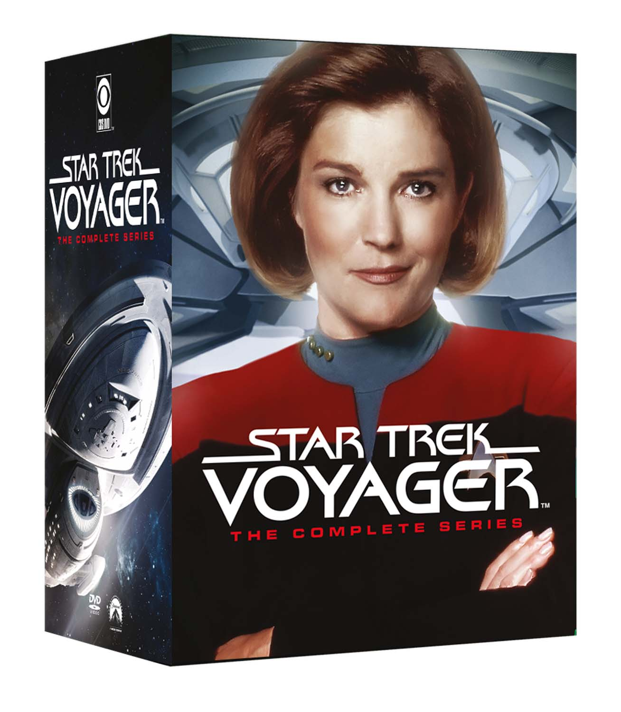 COF.STAR TREK VOYAGER - STAGIONE 01-07 (44 DVD) (DVD)