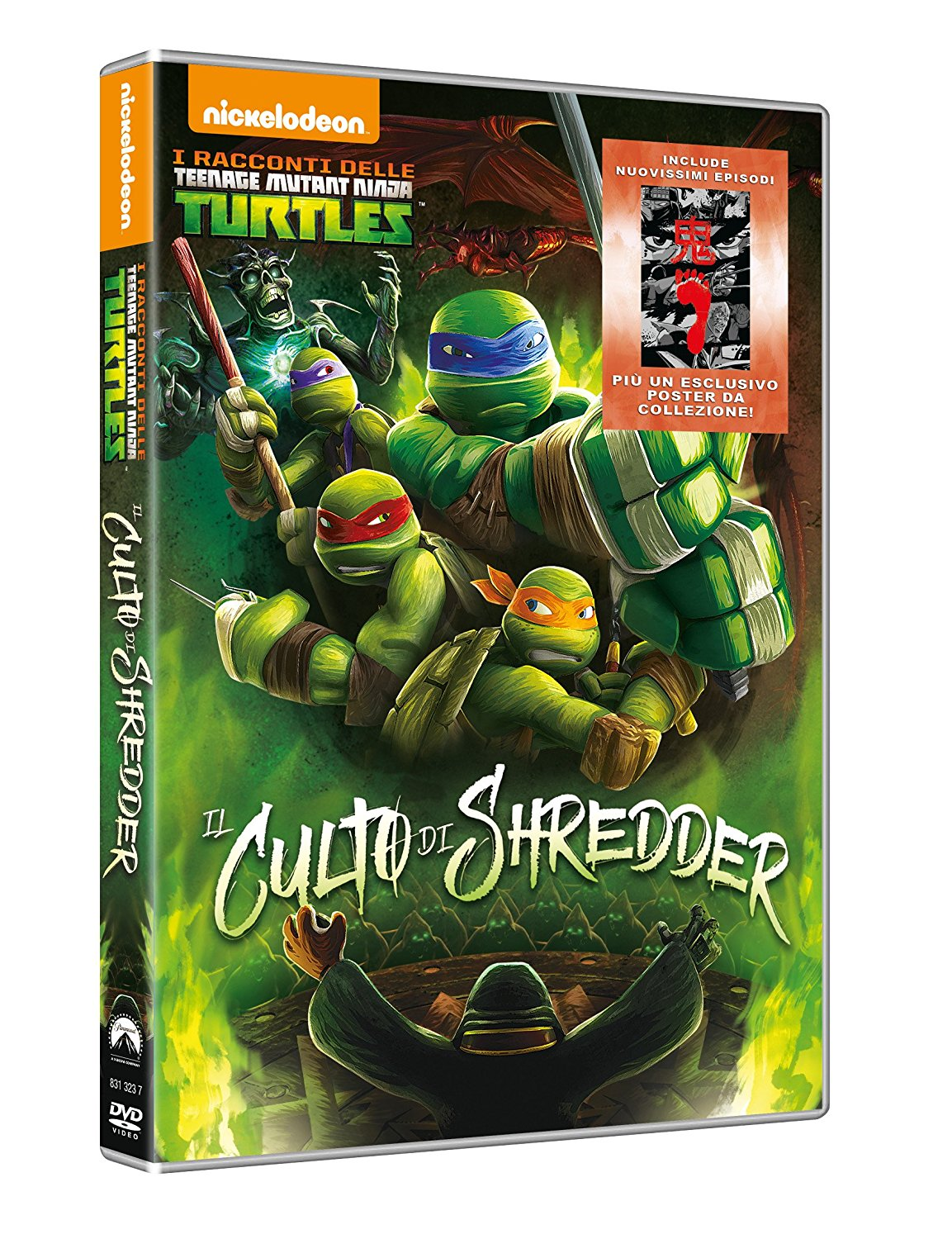 I RACCONTI DELLE TEENAGE MUTANT NINJA TURTLES - THE CULT OF SHREDDER (DVD)