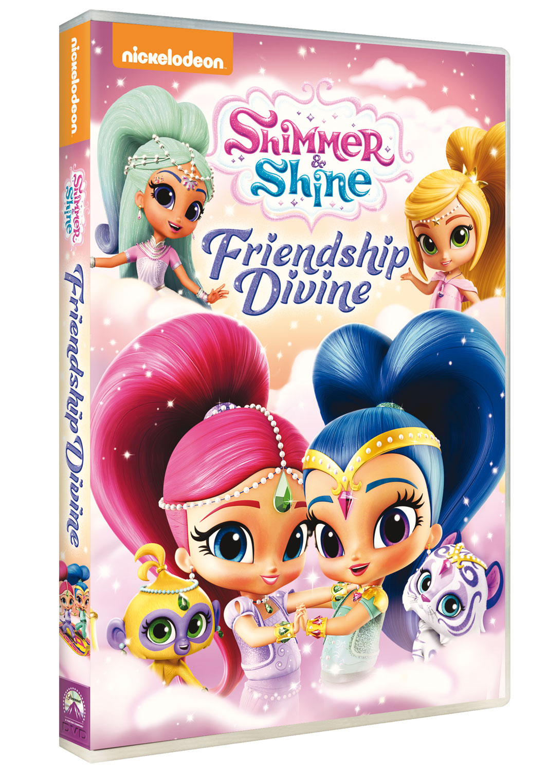 SHIMMER AND SHINE - AMICHE DIVINE (DVD)