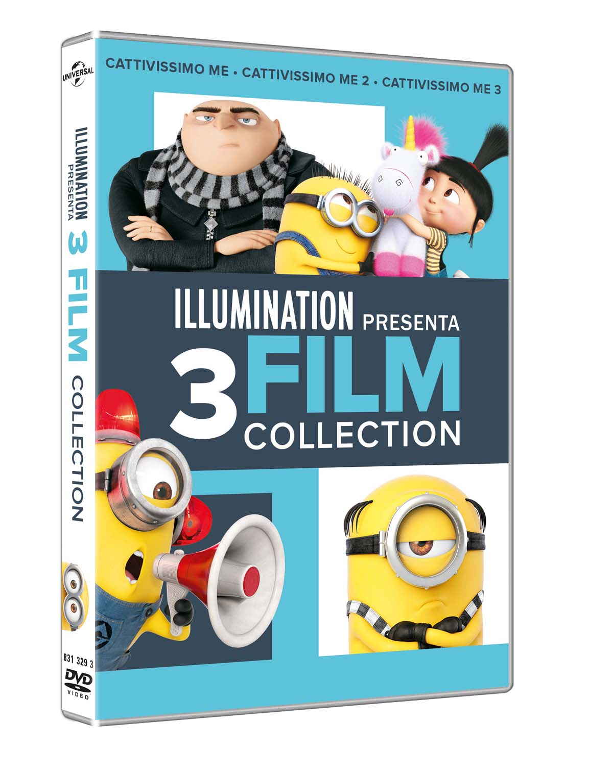 COF.CATTIVISSIMO ME 3 MOVIES COLLECTION (3 DVD) (DVD)