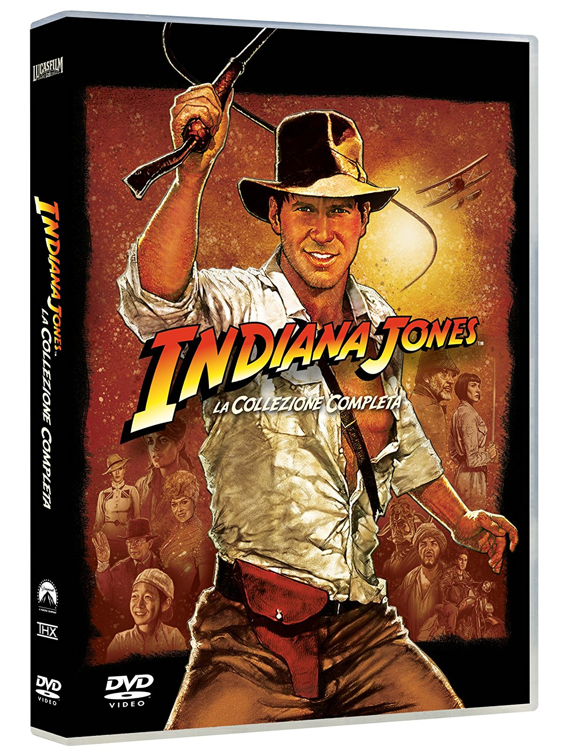 COF.INDIANA JONES QUADRILOGIA (4 DVD) (DVD)