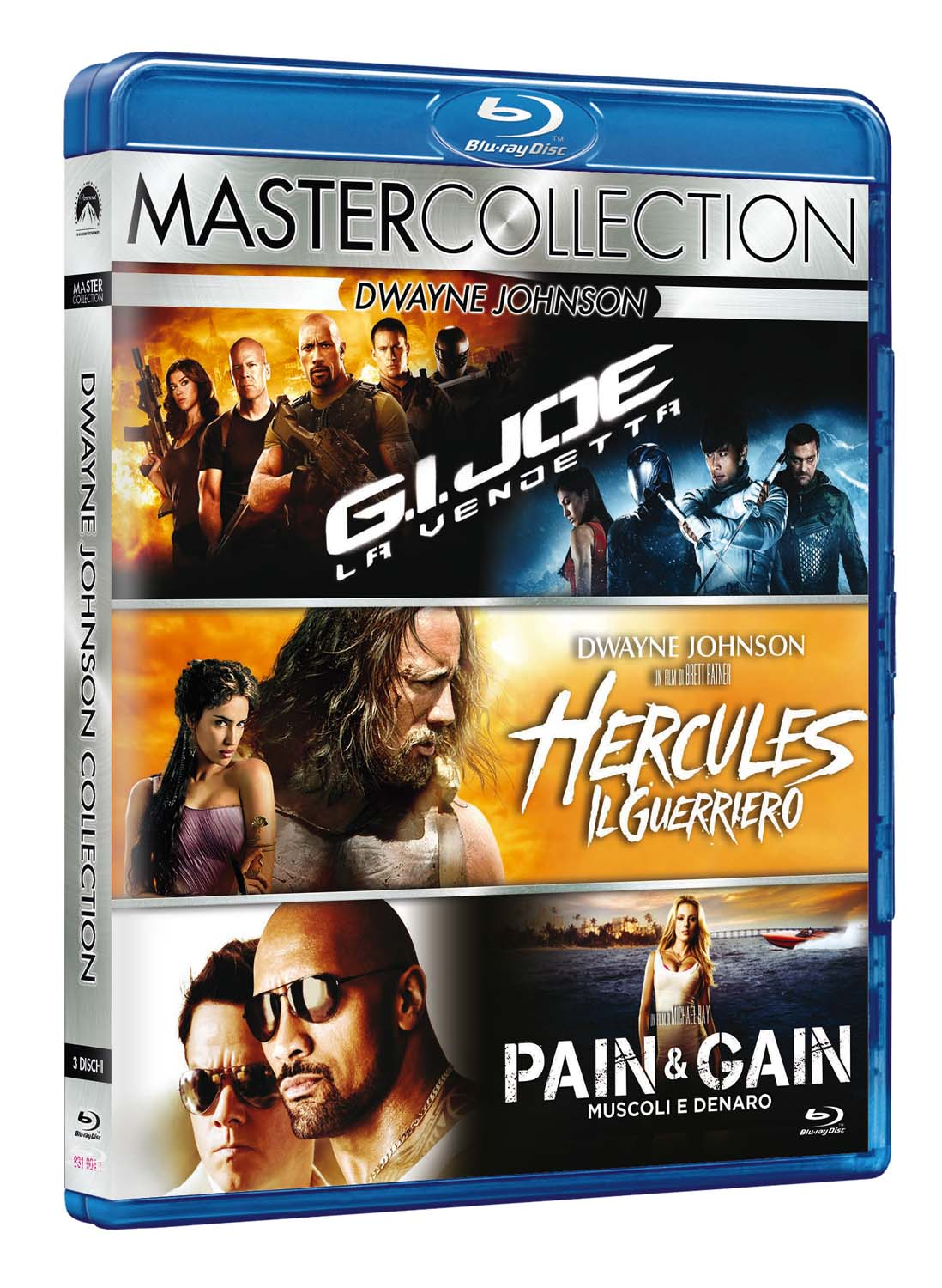 COF.DWAYNE JOHNSON MASTER COLLECTION (3 BLU-RAY)