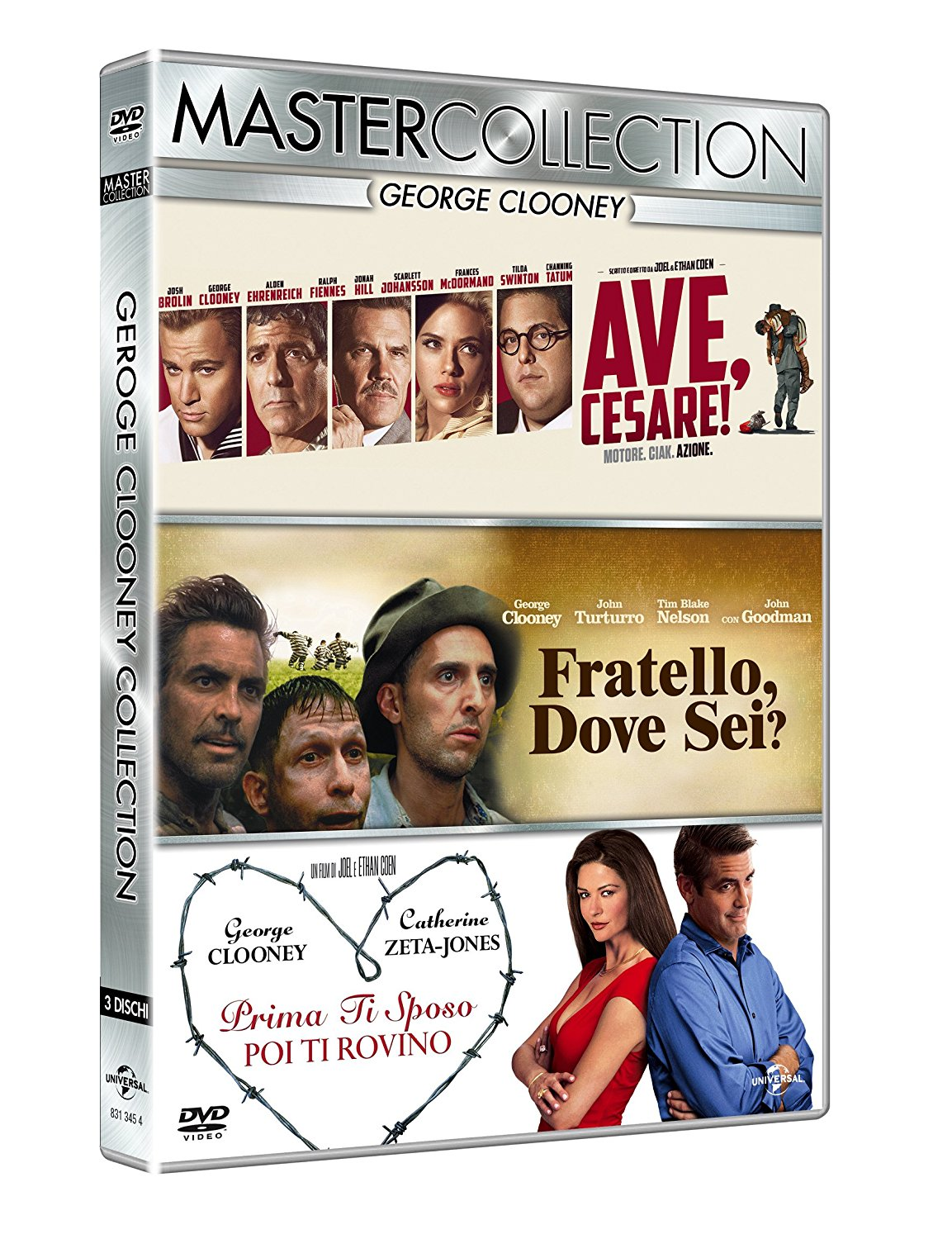 COF.GEORGE CLOONEY MASTER COLLECTION (3 DVD) (DVD)