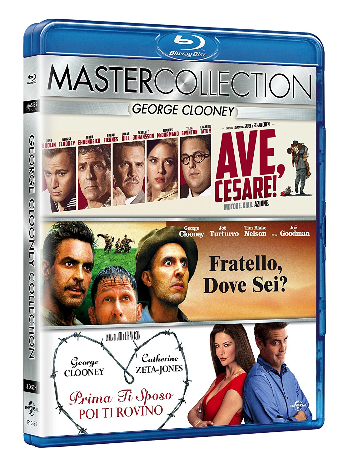 COF.GEORGE CLOONEY MASTER COLLECTION (3 BLU-RAY)