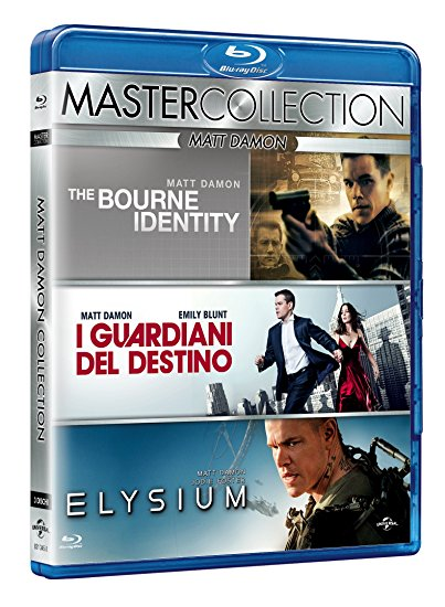 COF.MATT DAMON MASTER COLLECTION (3 BLU-RAY)