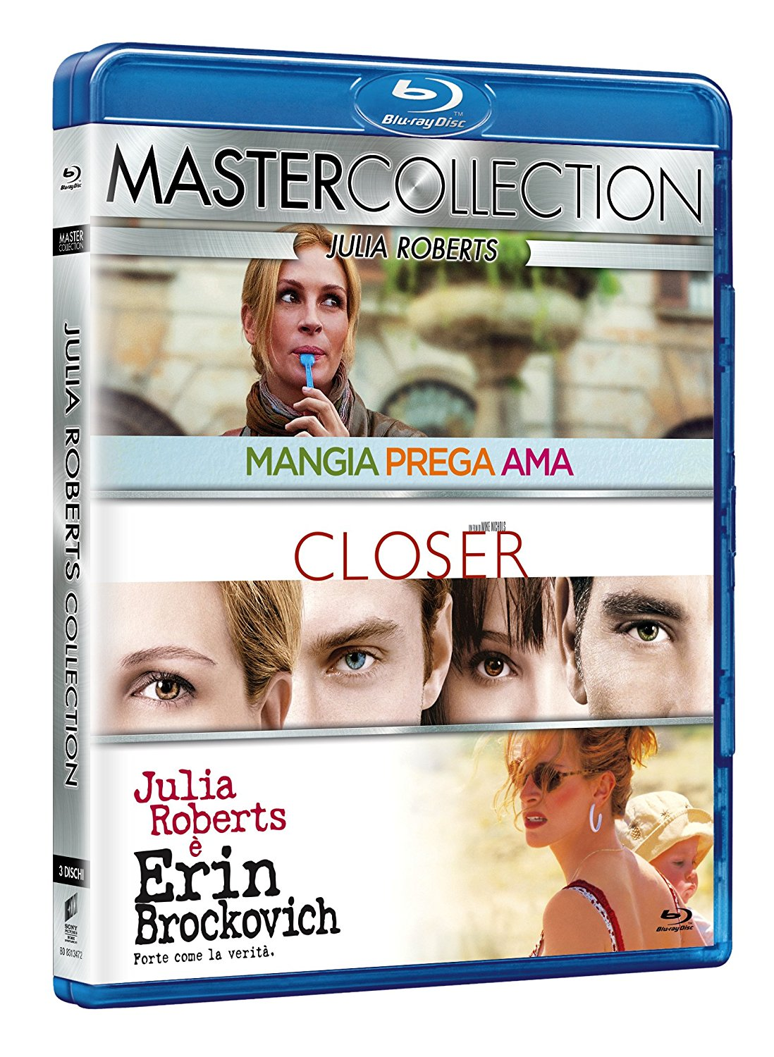 COF.JULIA ROBERTS MASTER COLLECTION (3 BLU-RAY)