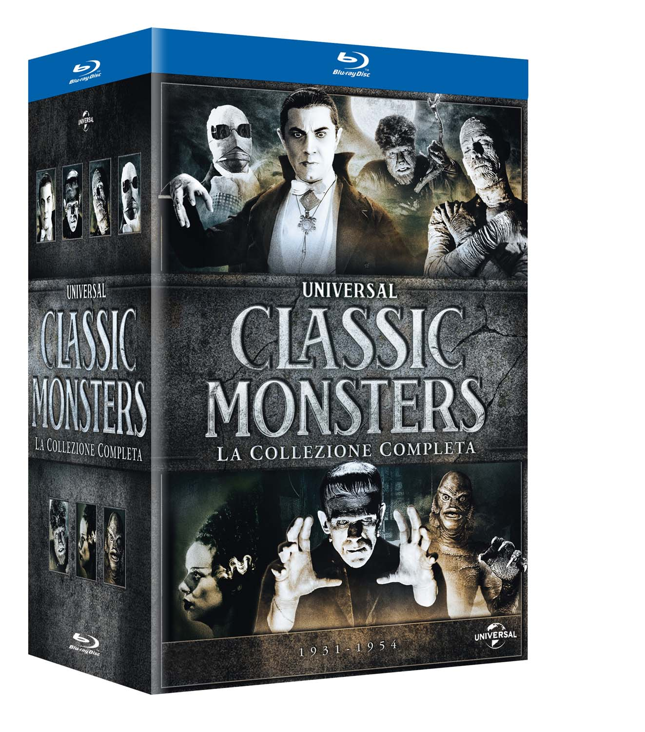 COF.CLASSIC MONSTER BOX SET (7 BLU-RAY)