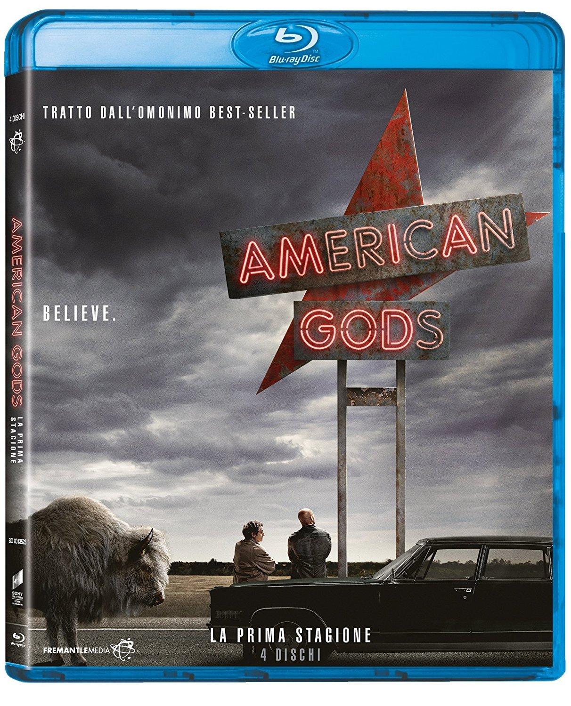 COF.AMERICAN GODS - STAGIONE 01 (4 BLU-RAY)