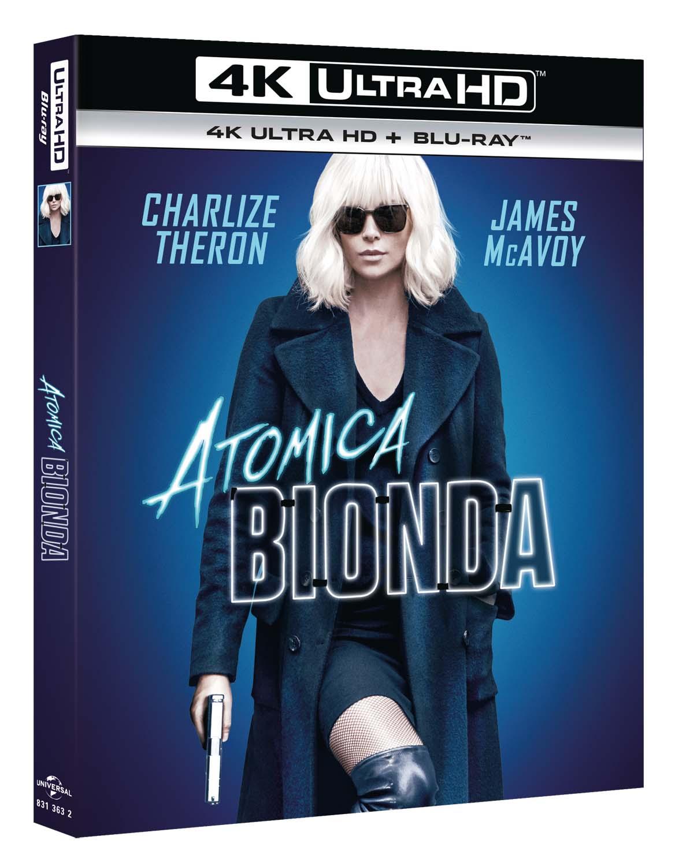 ATOMICA BIONDA (BLU-RAY 4K ULTRA HD+BLU-RAY)