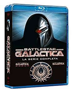 COF.BATTLESTAR GALACTICA - STAGIONE 01-04 (20 BLU-RAY)