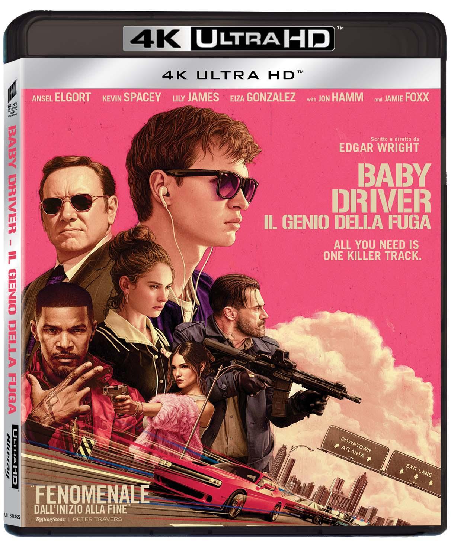 BABY DRIVER - IL GENIO DELLA FUGA (4K UHD+BLU-RAY)