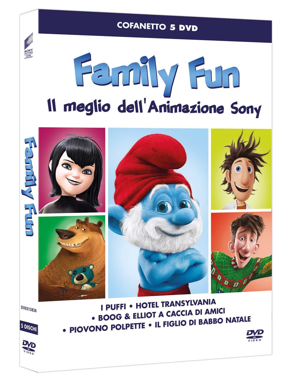 COF.FAMILY FUN - IL MEGLIO DELL'ANIMAZIONE SONY (5 DVD) (DVD)