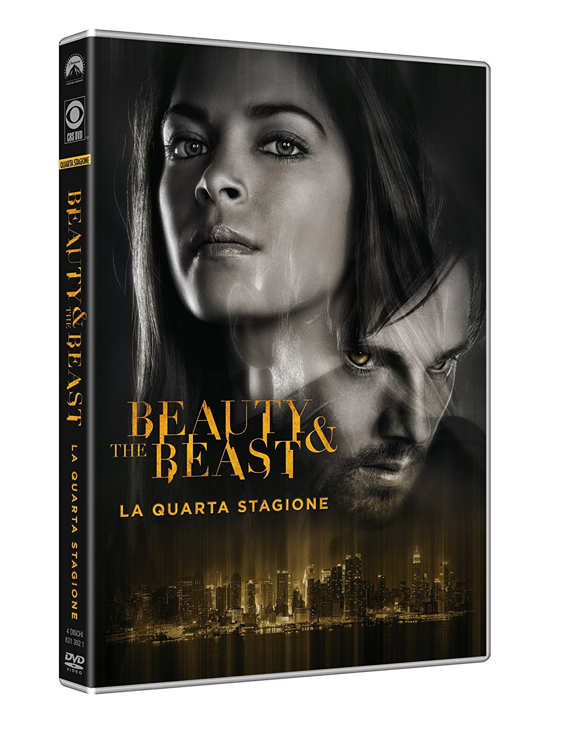 COF.BEAUTY AND THE BEAST - STAGIONE 04 (4 DVD) (DVD)