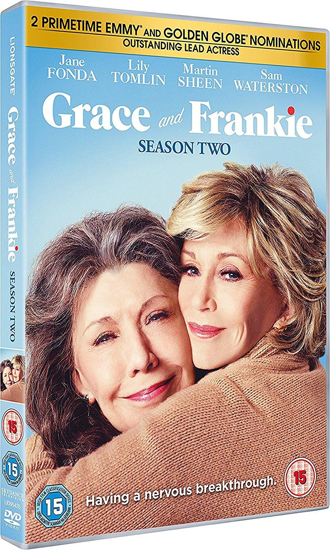 COF.GRACE AND FRANKIE - STAGIONE 02 (3 DVD) (DVD)