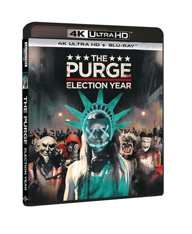LA NOTTE DEL GIUDIZIO - ELECTION YEAR (BLU-RAY 4K ULTRA HD+BLU-RAY)