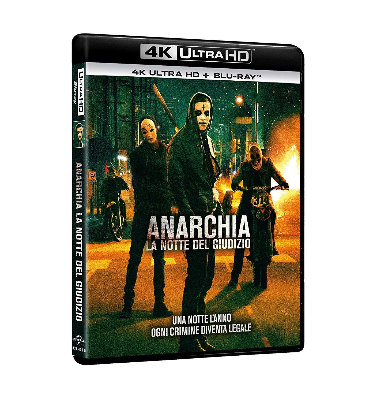 ANARCHIA - LA NOTTE DEL GIUDIZIO (BLU-RAY 4K ULTRA HD+BLU-RAY)
