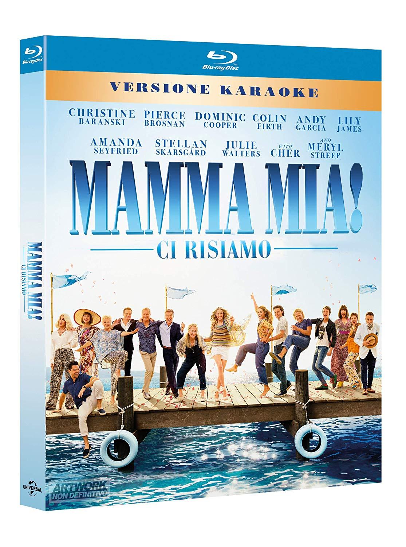 MAMMA MIA CI RISIAMO - BLU RAY