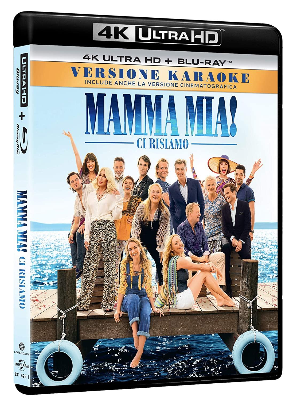 MAMMA MIA! CI RISIAMO (BLU-RAY UHD+BLU-RAY)