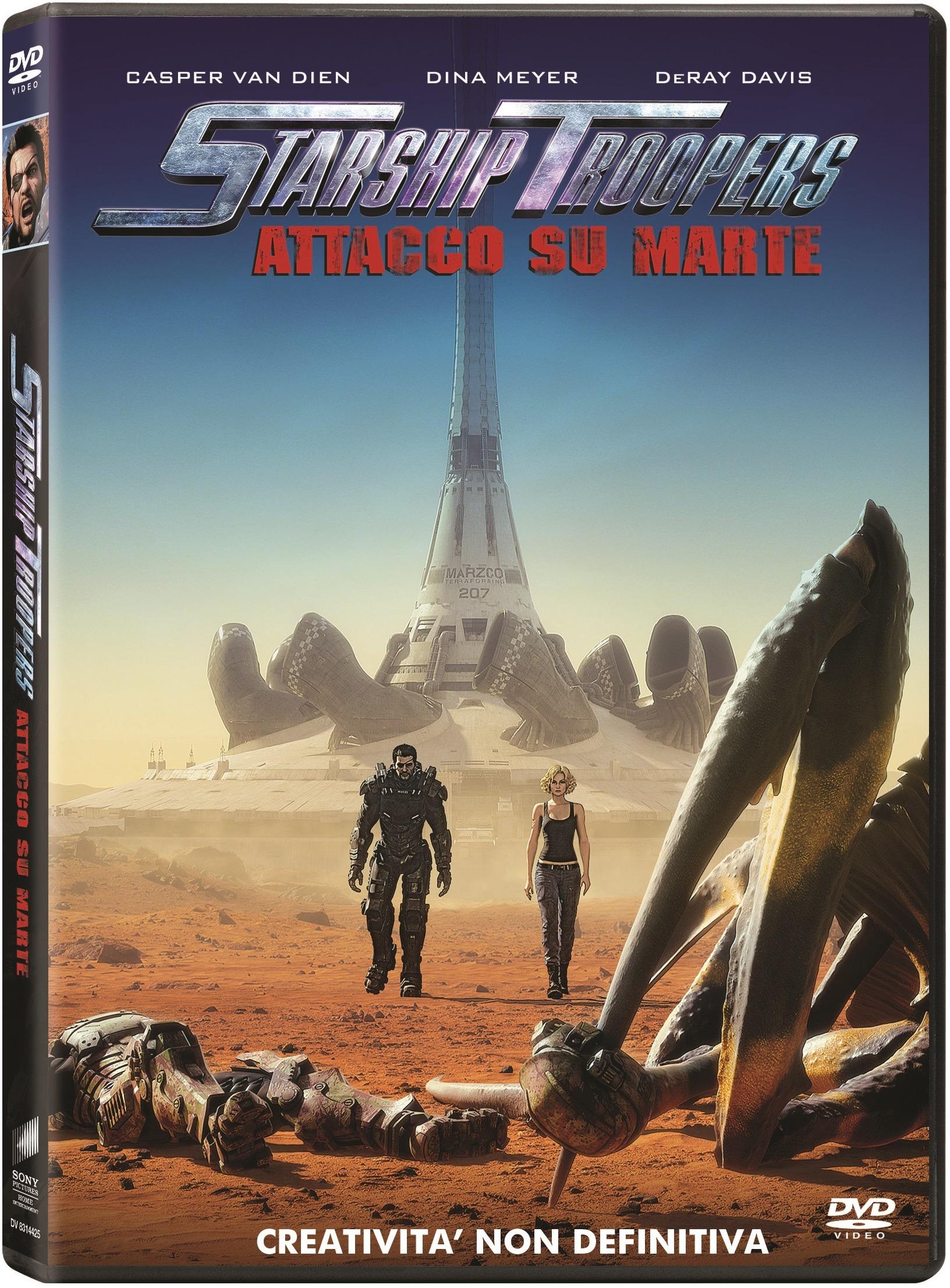 STARSHIP TROOPERS - ATTACCO SU MARTE (DVD)
