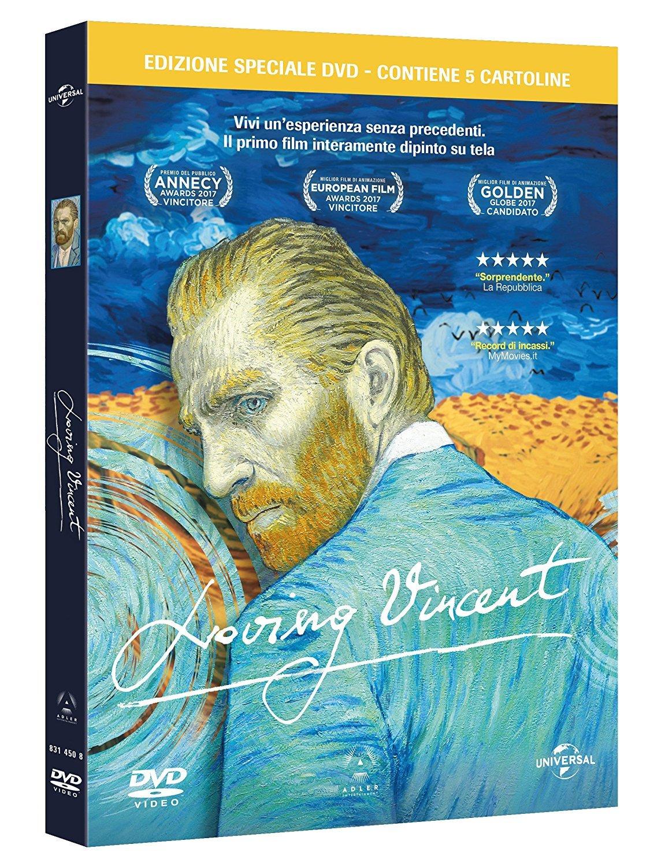 LOVING VINCENT (SE) (DVD + 5 CARTOLINE) (DVD)