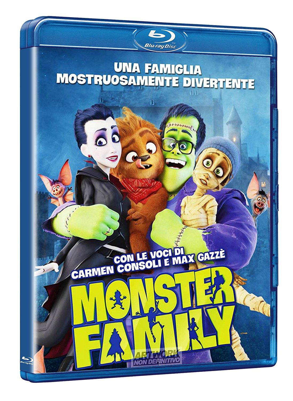 MONSTER FAMILY - BLU RAY
