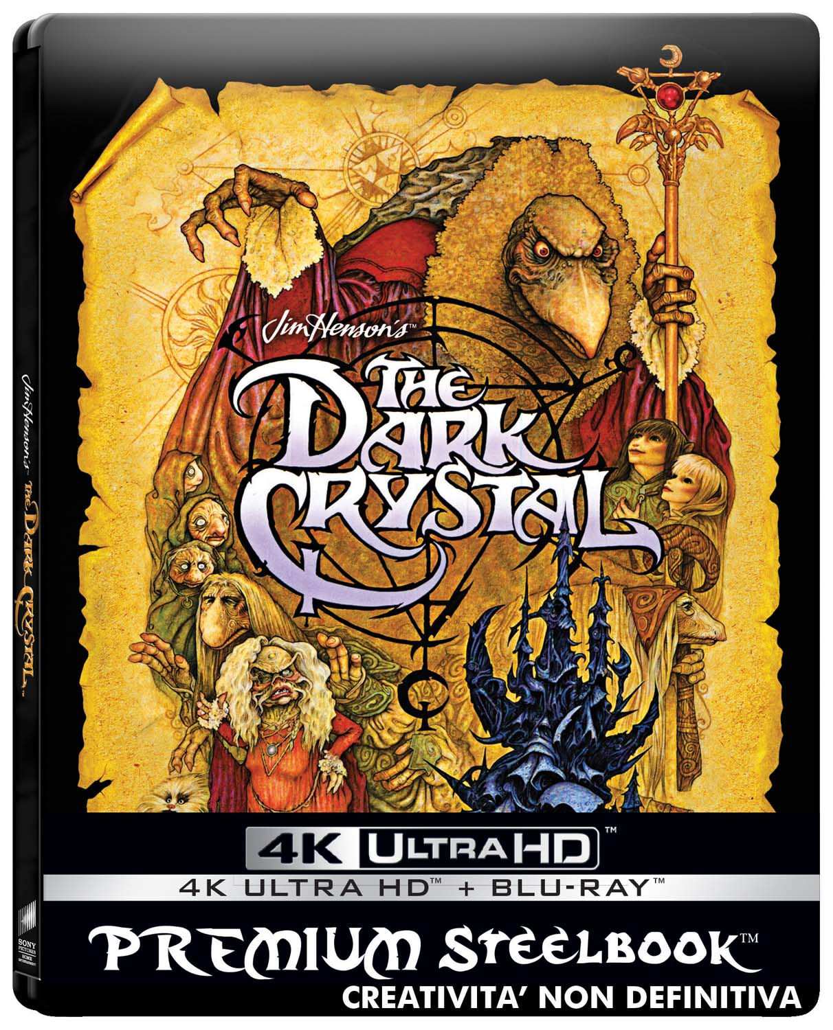 DARK CRYSTAL - STEELBOOK 2 DISCHI (BLU-RAY 4K ULTRA HD + BLU-RAY