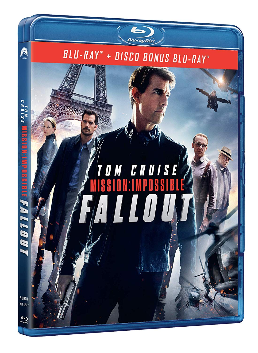 MISSION: IMPOSSIBLE - FALLOUT - BLU RAY