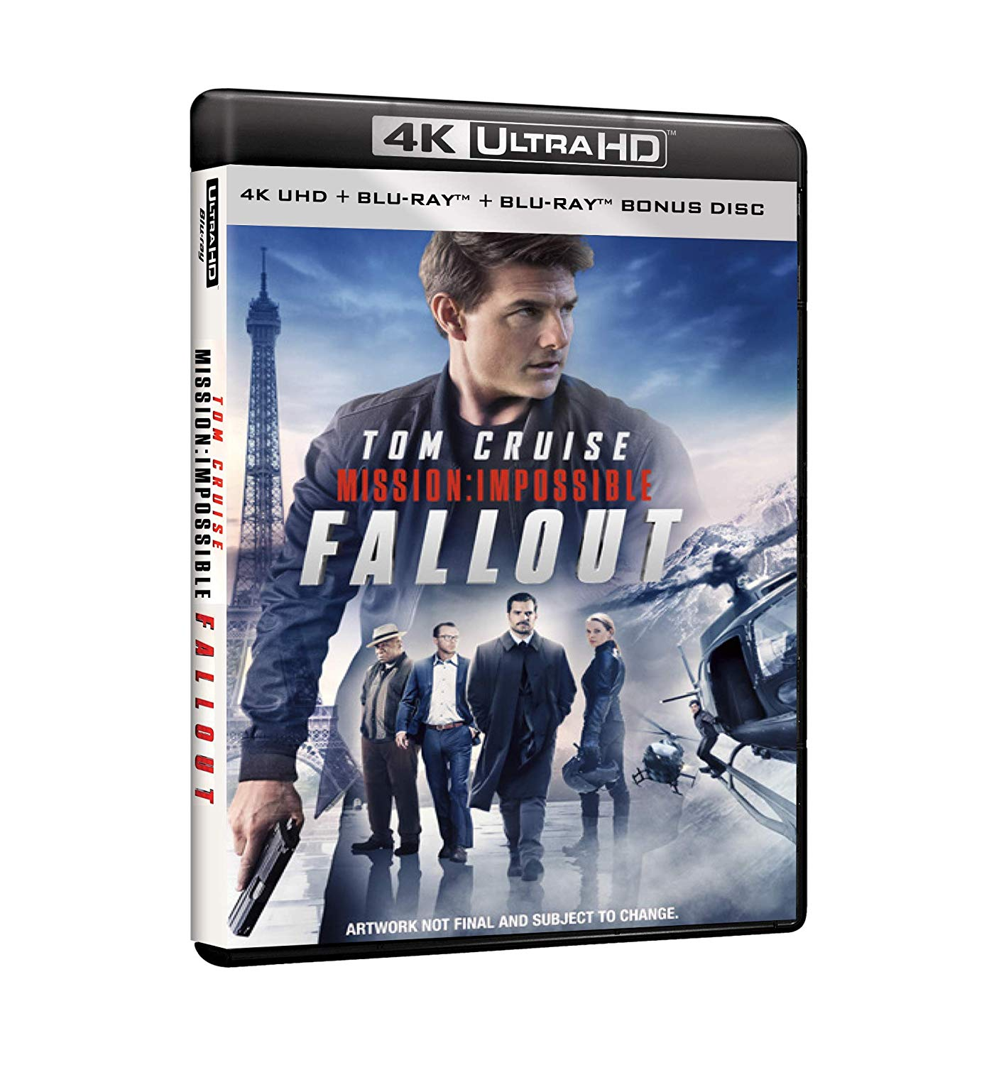 MISSION: IMPOSSIBLE - FALLOUT (BLU-RAY 4K ULTRA HD+BLU-RAY)