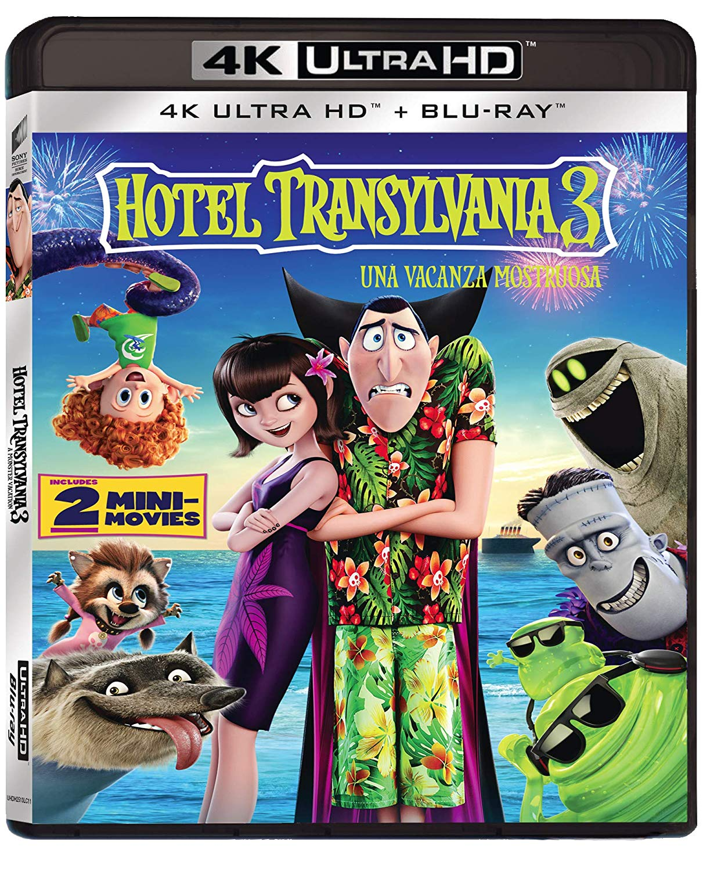 HOTEL TRANSYLVANIA 3 (BLU-RAY 4K ULTRA HD+BLU-RAY)