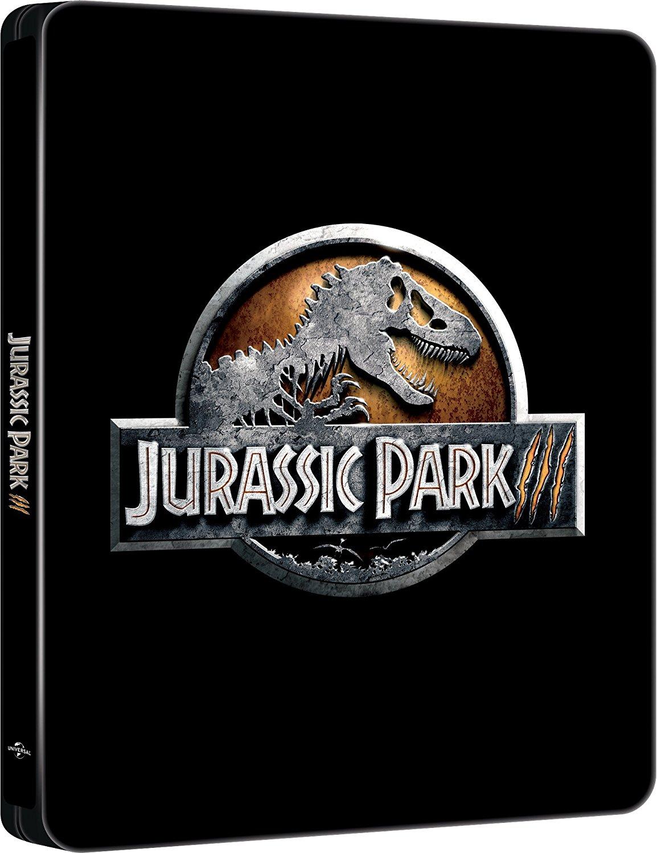 JURASSIC PARK 3 (STEELBOOK) - BLU RAY