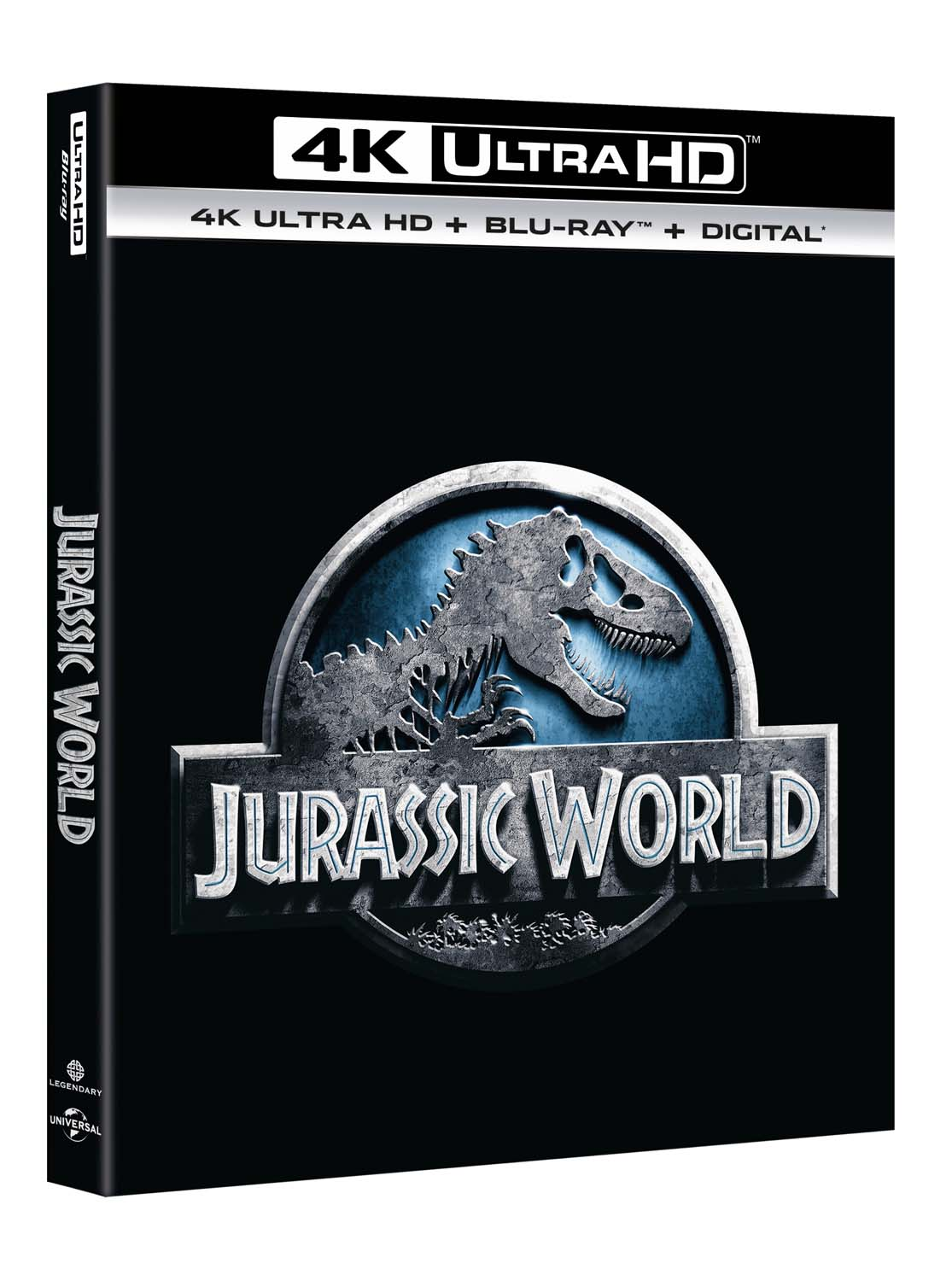 JURASSIC WORLD (4K UHD+BLU-RAY)