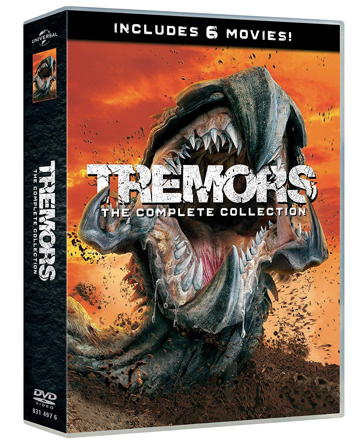 COF.TREMORS 1-6 COLLECTION (6 DVD) (DVD)