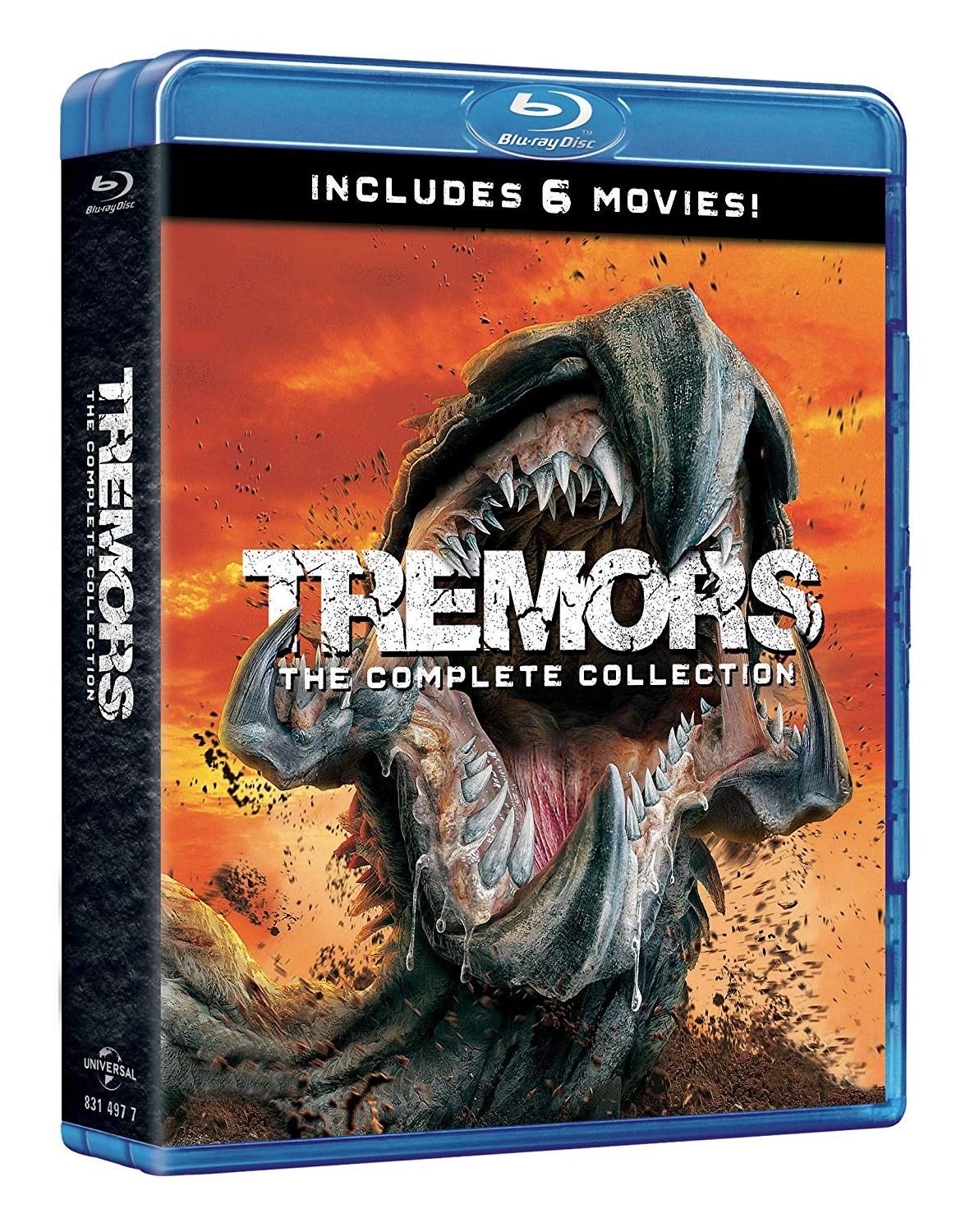 COF.TREMORS 1-6 COLLECTION (6 BLU-RAY)