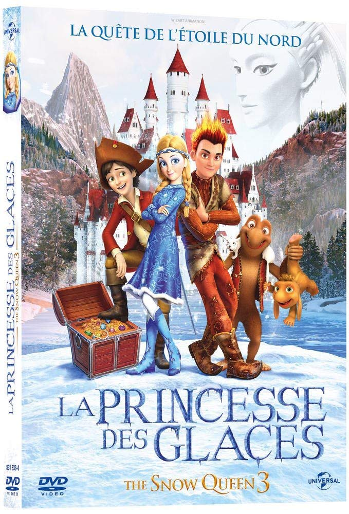 LA PRINCESSE DES GLACES (THE SNOW QUEEN 3) (DVD)