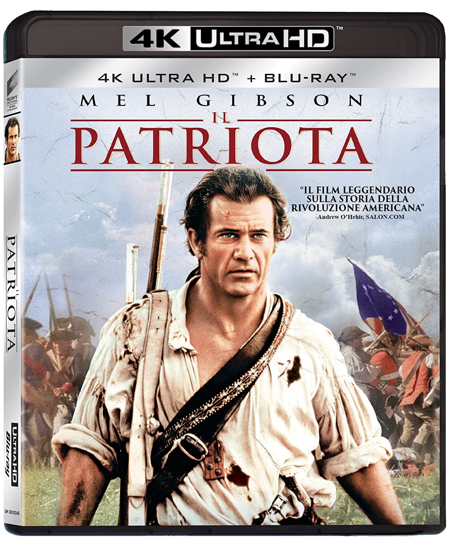 IL PATRIOTA (4K UHD+BLU-RAY)