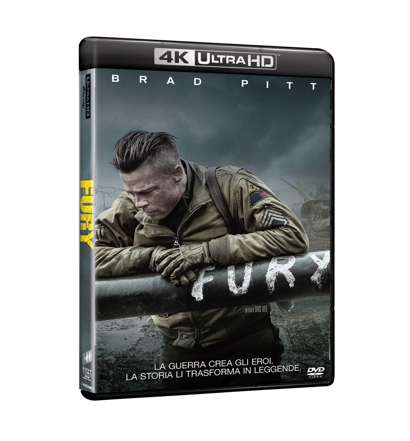FURY (4K UHD+BLU-RAY)
