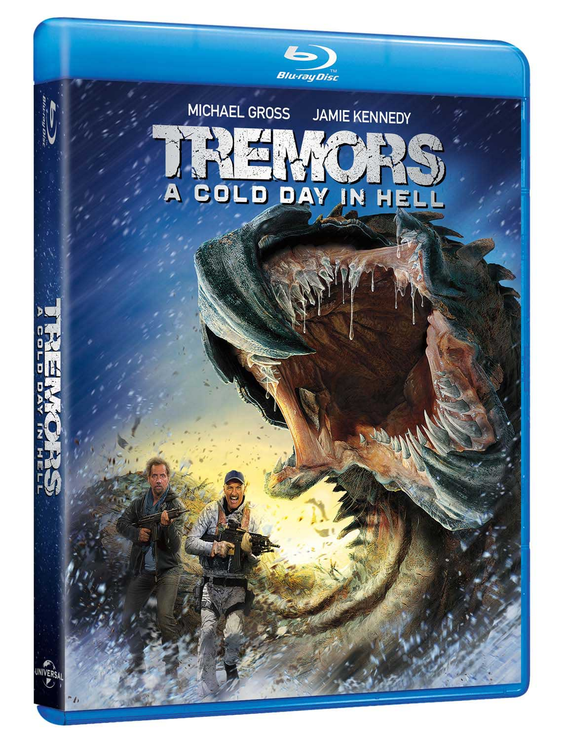 TREMORS A COLD DAY IN HELL - BLU RAY