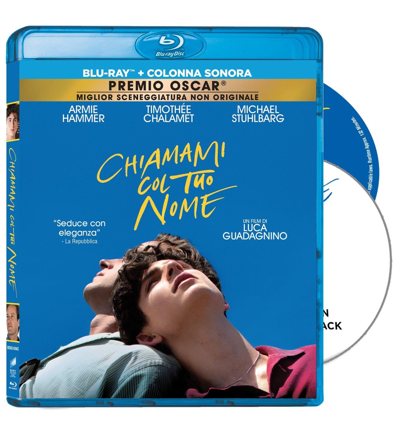COF.CHIAMAMI CON IL TUO NOME (BLU-RAY+CD)