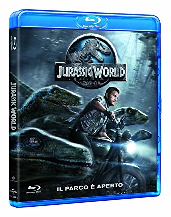 JURASSIC WORLD - BLU RAY