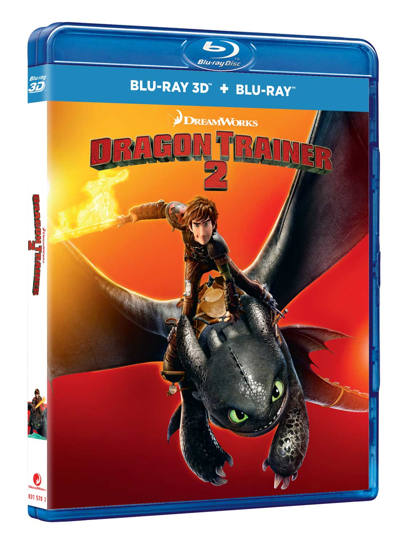 DRAGON TRAINER 2 (BLU-RAY 3D+BLU-RAY)
