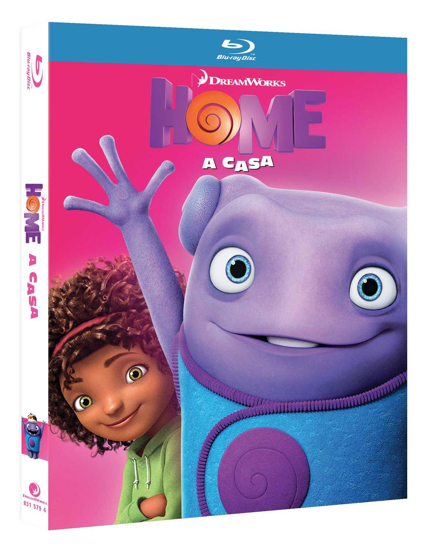 HOME - A CASA - BLU RAY