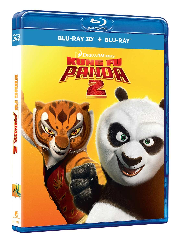 KUNG FU PANDA 2 (BLU-RAY 3D+BLU-RAY)